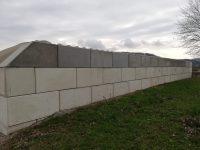 Wand zur Abgrenzung und zum Schutz - Lasselsberger Betonblöcke