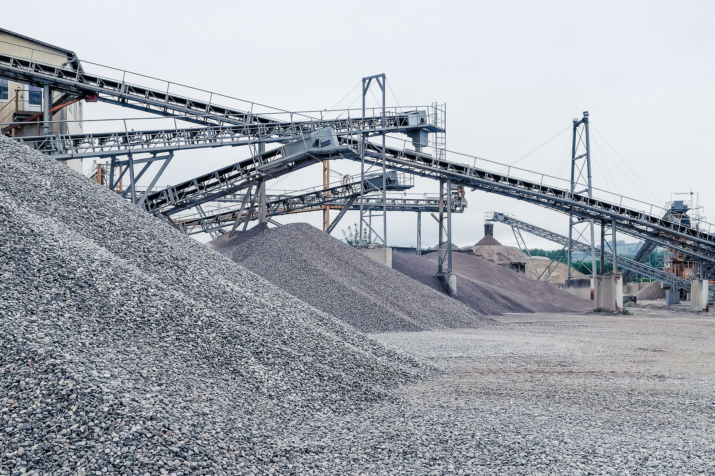 Lasselsberger Sandwer und Kiesewerk in Niederösterreich